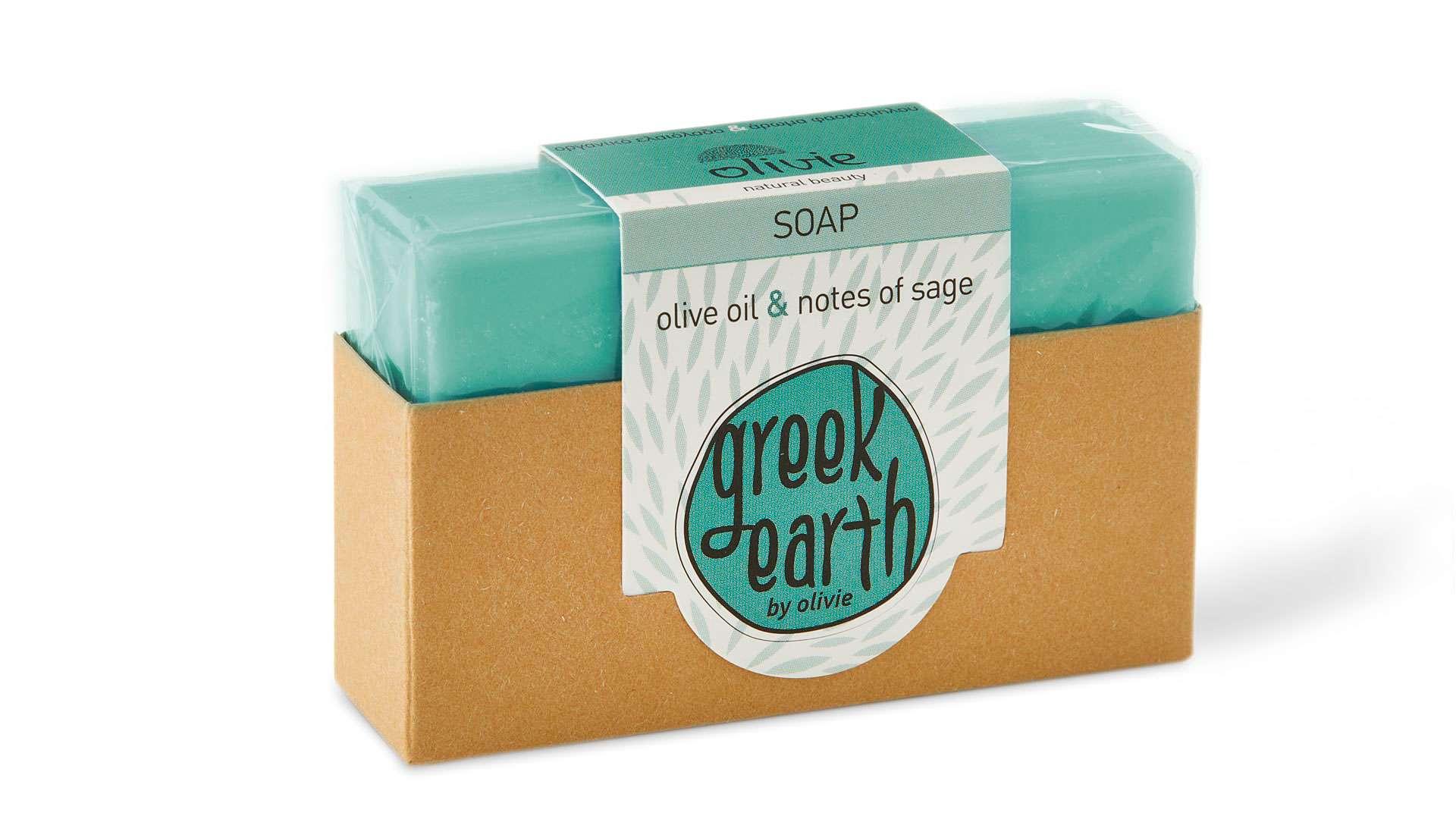 GREEN GREEK EARTH SOAP